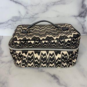 MISSONI Target zig zag print makeup train case